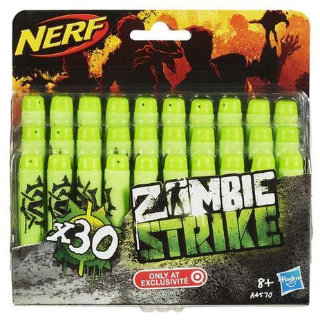 Imagem de Brinquedo Refil Nerf Zombie 30 Dardos A4570 - Hasbro