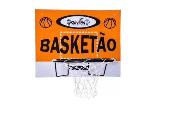 Imagem de Brinquedo Tabela de Basquete Aro Rede