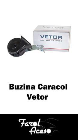 Imagem de Buzina Automotiva Caracol Universal 12V 4.5 A