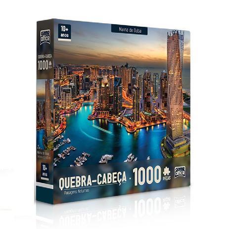 Imagem de Cabeça 1000 peças -  Marina de Dubai - Toyster
