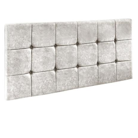 Cabeceira Painel Sleep para Cama Box Casal 1,40 m Kaki Shine 2523 - DRossi  - Js móveis