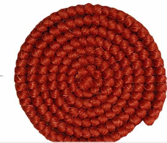 Imagem de Cabelo crepe de lã p/ bigodes falsos e Pêlos faciais cor borgonha