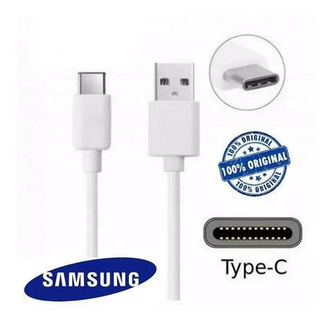 Imagem de Cabo Carregador Usb C Original Samsung Galaxy A8 A8 Plus