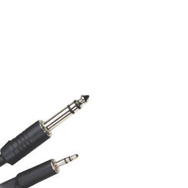 Imagem de Cabo de Áudio P2 Stereo x P10 Stereo 10 Metros Preto