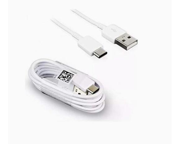 Imagem de Cabo Para Samsung Tipo C branco