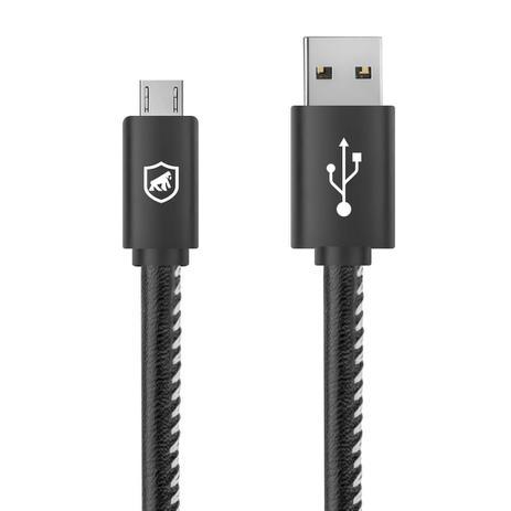 Imagem de Cabo turbo Militar micro USB Gorila Shield para lg K6 Plus