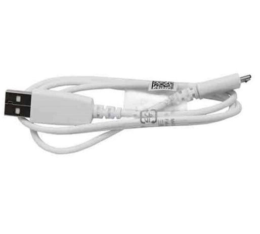 Imagem de Cabo USB V8 para Samsung A5 A7 E5 S6 S7 S8 Edge - Branco