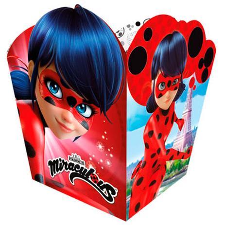Imagem de Cachepot Miraculous Ladybug 08 unidades Regina Festas