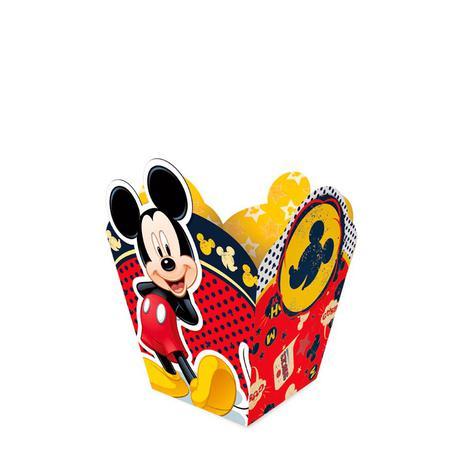 83f6ee6b8 Cachepot Pequeno Mickey Clássico 08 unidades Regina Festas - Vaso de ...