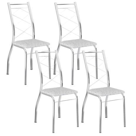 029c45d948 Cadeira 1710 Cromada 04 Unidades Fantasia Branco Carraro - Cadeiras ...