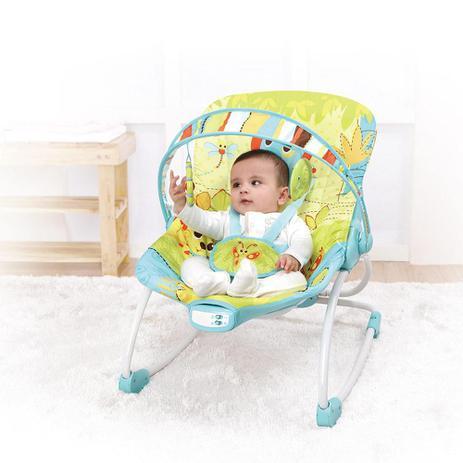 Imagem de Cadeira Bebê Descanso Musical Vibratória Balanço Mastela 6904