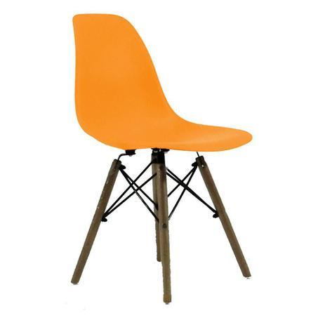 Imagem de Cadeira Byartdesign Charles Eames DKR Wood Laranja