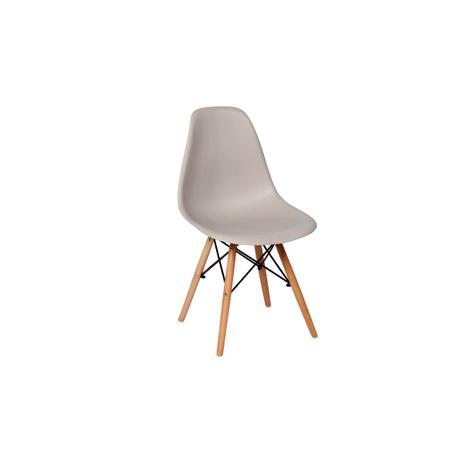 Imagem de Cadeira Charles Eames Eiffel Dkr Wood - Design - Cinza