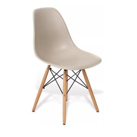 Imagem de Cadeira charles eames wood design dsw