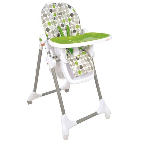 3887f1dae1 Cadeira de Alimentação Alta Snack - Verde - Kiddo - Cadeira de ...