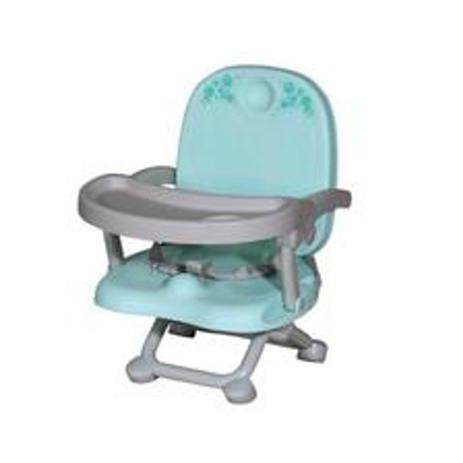 Imagem de Cadeira de Alimentação com Assento Elevatório - Galzerano Azul  Vic 3 Posições de Altura 0 a 15kg