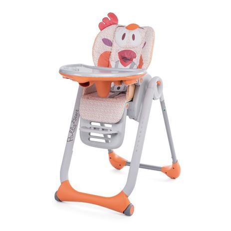 275067533a Cadeira De Alimentação Polly 2 em 1 Start Fancy Chicken 0 a 15kg - Chicco
