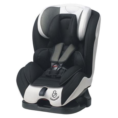 Imagem de Cadeira de Bebê Criança para Auto Preto Cinza Long Life Galzerano