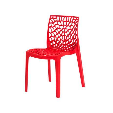 Imagem de Cadeira de Jantar Gruvyer Vermelha