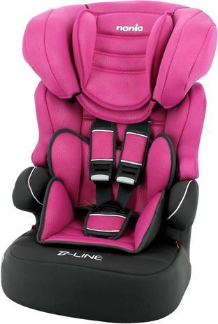 Imagem de Cadeira de Seguranca P/ Carro Beline Luxe Framboise 9 a 36KG Unidade Nania