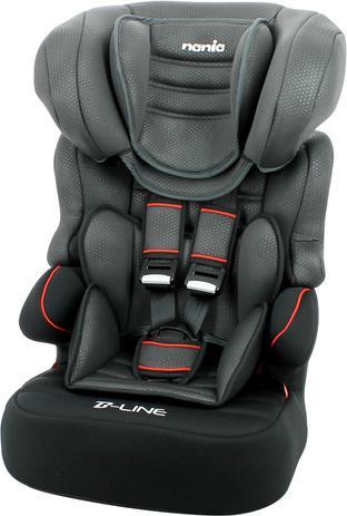 Imagem de Cadeira de Seguranca P/ Carro Beline Luxe Noir 9 a 36KG PT Unidade Nania