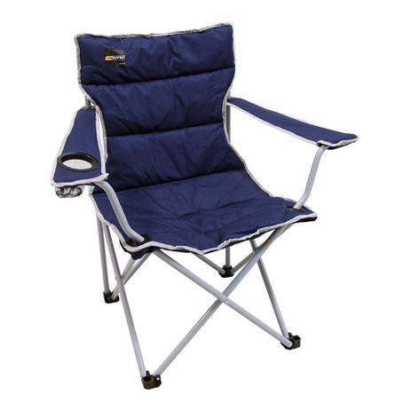 Imagem de Cadeira Dobravel Boni Azul Camping Pesca Nautika + Bolsa - 2 unidades
