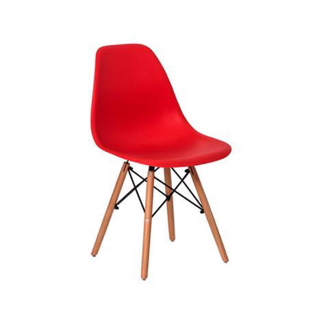 Imagem de Cadeira Eiffel Charles Eames com Pé Palito - Vermelha