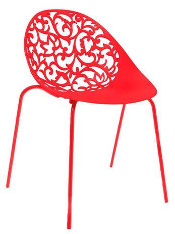 Imagem de Cadeira Fiorita vermelha