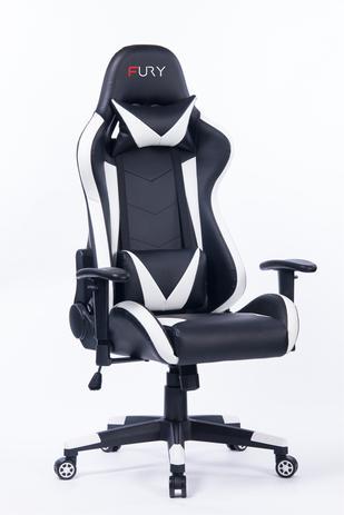 Cadeira Gamer Fury 7000 - Braço Ajustável, Reclinável 180º