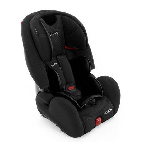Imagem de Cadeira para Auto - 9 a 36Kg - Envolve-X - Sport - Preto - Cosco
