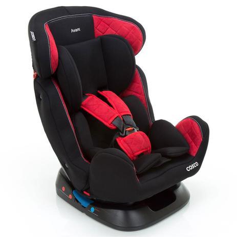 Cadeira para Auto - De 0 a 25Kg - Avant - Vermelho e Preto - Cosco