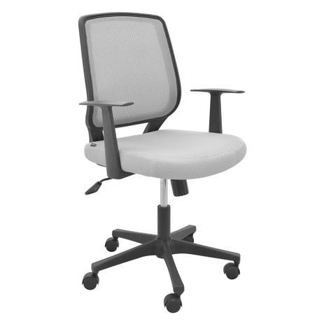 f594b2ba5e Cadeira para Escritório Ávila Cinza - Rivatti - Cadeira de ...
