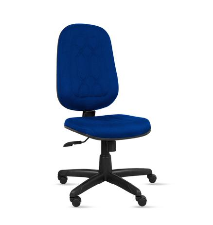 Imagem de Cadeira presidente gold c/ costura base giratória relax - tecido crepe - azul - pp246