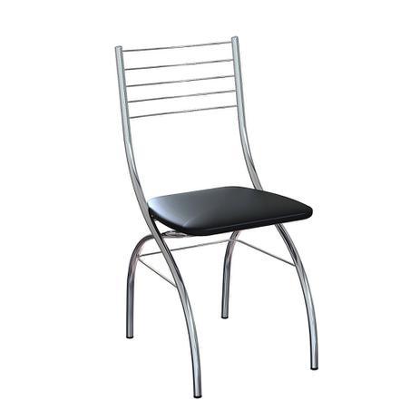 Imagem de Cadeira Preta C-611 - Brigatto