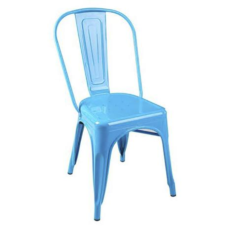 Imagem de Cadeira Tolix Iron - Azul Clara