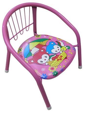 Cadeirinha Banco Infantil Criança Buzina Apito Metal Rosa (BA-31114) - 20  comercial 00f5556e15eb5