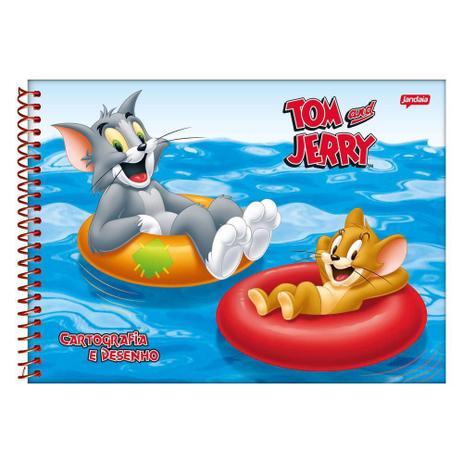 Caderno De Cartografia E Desenho Tom E Jerry Verao Jandaia