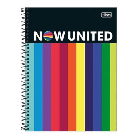 Imagem de Caderno espiral capa dura universitário 1x1 - 80 folhas - Now United - 3 - Tilibra