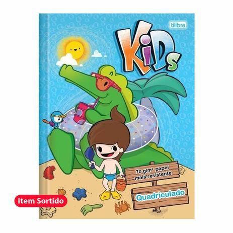 Imagem de Caderno Quadriculado 40 fls Kids Masculino