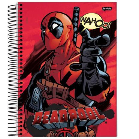 Imagem de Caderno Universitário - Deadpool - Wahoo - 200 folhas