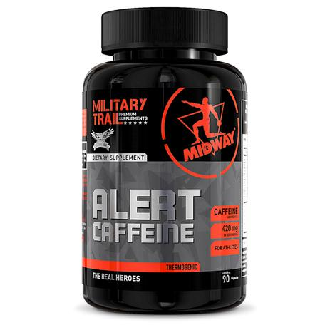 98ff6f6ba Cafeína Alert 90 cápsulas - Midway - Produtos para Energia ...