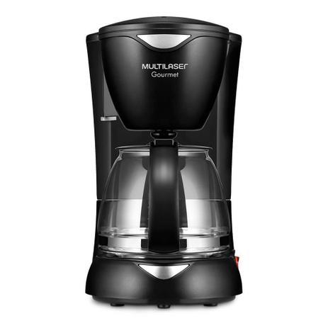 Imagem de Cafeteira Elétrica Gourmet 127V com 200W Capacidade de 15 Xícaras + Colher Dosadora + Filtro Permanente Preta Multilaser - BE01