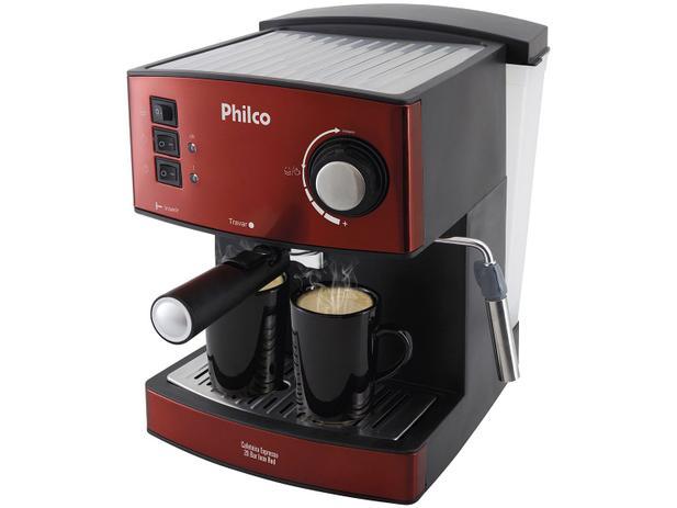 bbfd5f39b Cafeteira Expresso Inox Philco - 20 Bar Red - Cafeteira Elétrica ...