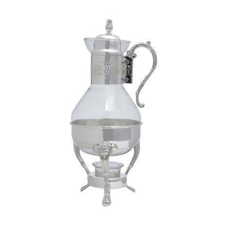 Imagem de Cafeteira Samovar 1,6L de vidro e zamac com Réchaud Prestige - 9064