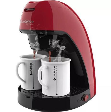 Imagem de Cafeteira Single Colors Vermelha CAF211 127V -Cadence