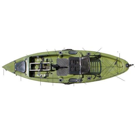 f83476793 Caiaque De Pesca Com Pedal Marlim - Caiaker - Caiaques - Magazine Luiza