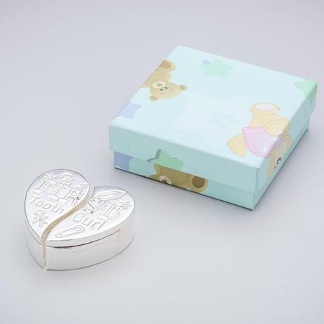 Imagem de Caixa Coração Rosa Primeiro Dente e Cabelo - Prestige