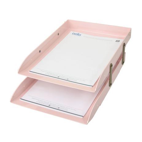 Imagem de Caixa Correspondência Plástica Dupla Articulável Dello Rosa