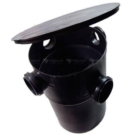 Imagem de Caixa de Gordura Sifonada 32 Litros com cesto de Limpeza