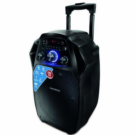 Imagem de Caixa de som amplificadora 200 watts RMS - CM-08 (110V/220V)